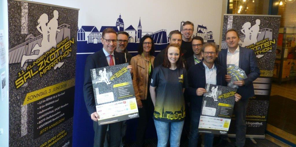 Klingenthal Sport Salzkotten Marathon trifft auf Sponsoren  – Neues Laufshirt wird präsentiert